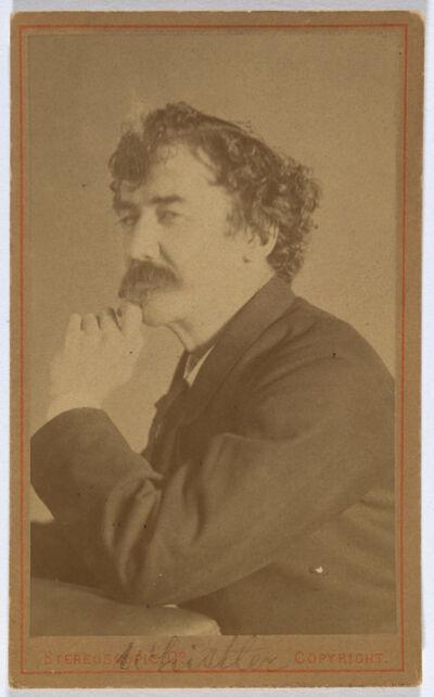 London Stereoscopic Co., 'James McNeill Whistler', 1879