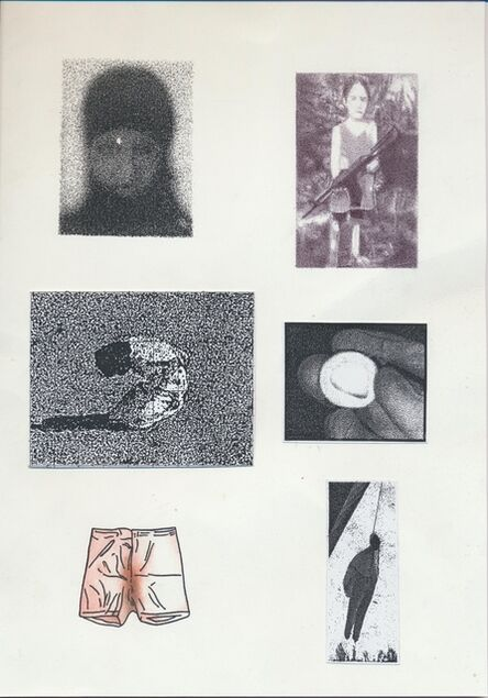 Dieter Fuchs, 'Headlines', 2017
