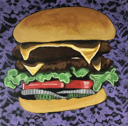 Frank Buffalo Hyde, 'Double Buffalo Burger II', 2016