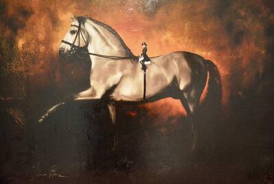 Johnny Popkess, 'Dressage, A Horse's View', 2016