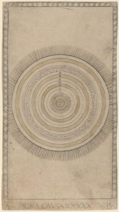 Master of the E-Series Tarocchi, 'Prima Causa (First Cause)', ca. 1465