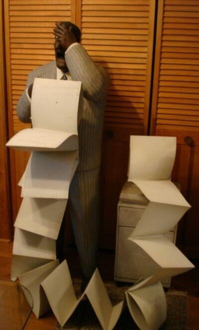 Stephen Hansen, 'Man with Printing Problems'