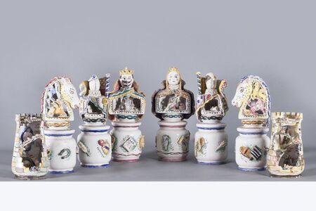 Andrea Parini, 'La Scacchiera Freudiana, Ceramics', 1950