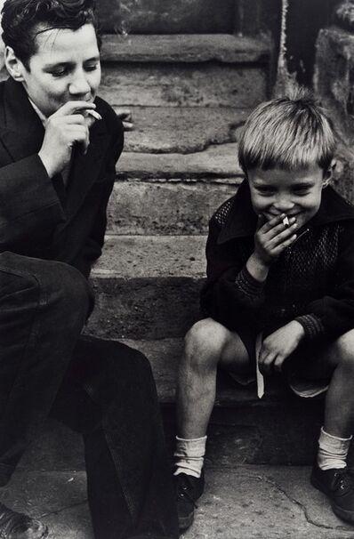 Roger Mayne, 'Boys Smoking, Southam St', 1956-printed 1998