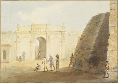 Lt. James Hunter, ' Delhi Gate of Bangalore'