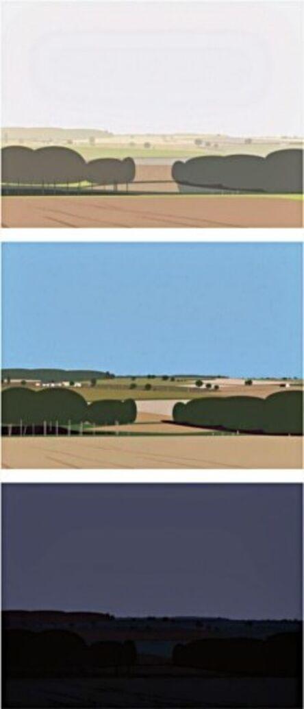 Julian Opie, 'View from my Bedroom Window', 2007