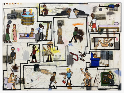 Jay Stuckey, 'Floor Plan', 2020