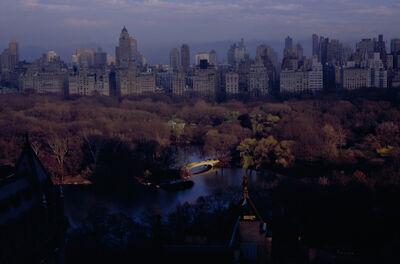 Joan Lemler, 'Light Falls on Bow Bridge'