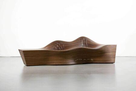 """Bae Se Hwa, '""""Steam 20"""" bench in steam-bent walnut', 2011"""