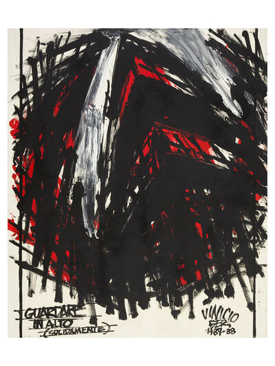 Vinicio Berti, 'Guardare in alto (solidamente)', 1987-1988