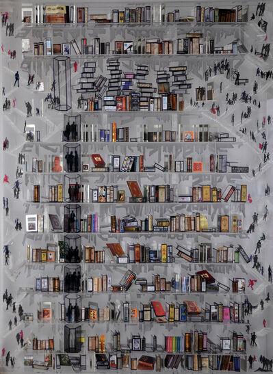 Engin Beyaz, 'Sanat Kütüphane - 2', 2014