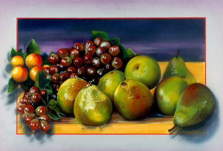 Audrey Flack, 'A Pear to Heade and Heal', 1983