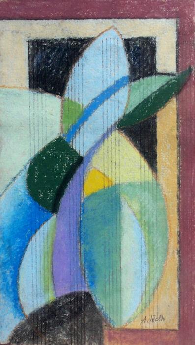 Alfréd Réth, ' Vertical Composition', 1950