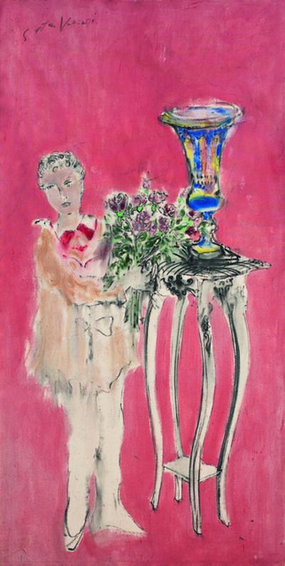 SRĐAN VUKČEVIĆ, 'Girl with a Bouquet', 1998
