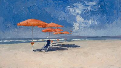 Nelson White, 'The Red Umbrellas', 2013
