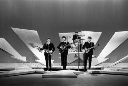 Harry Benson, 'Beatles on Ed Sullivan, (no cameras), NYC', 1964