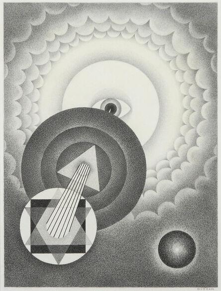 Emil Bisttram, 'Untitled Abstraction', ca. 1940