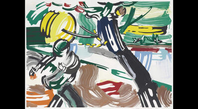 Roy Lichtenstein, 'The Sower, from the Landscape Series', 1985