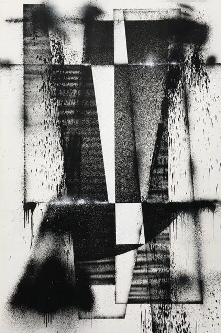 L'outsider, 'PEINTURE AÉROSOL SUR TOILE 2', 2019