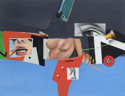 Peter Klasen, 'Femmes entre elles', 1965