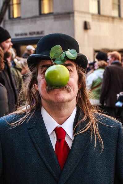 Norman Borden, 'Magritte, Fifth Avenue'