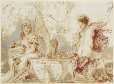 Giovanni Benedetto Castiglione, 'Sacred and Profane Love', ca. 1635