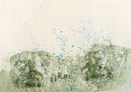 Pat Steir, 'Mountain in Rain', 2012