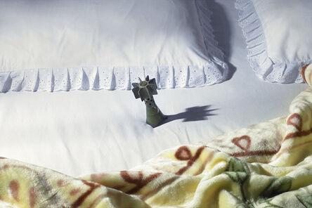 Shadi Ghadirian, 'Nil Nil (grenade in mattress)', 2008