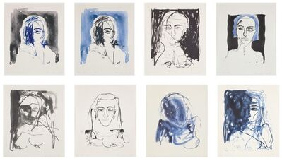Tracey Emin, 'These Feelings Were True - Set of 8 Lithographs, 2020   Munch Oslo', 2020