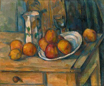 Paul Cézanne, 'Still Life with Milk Jug and Fruit', ca. 1900