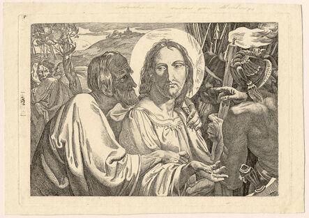 FRANZ NADORP, 'The Betrayal of Judas', ca. 1828