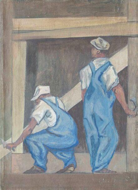 Pablo O'Higgins, 'Obreros', No date / Sin fecha