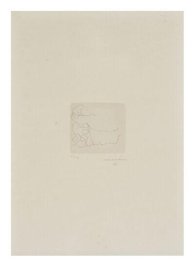 Eduardo Chillida, 'Esku V', 1972
