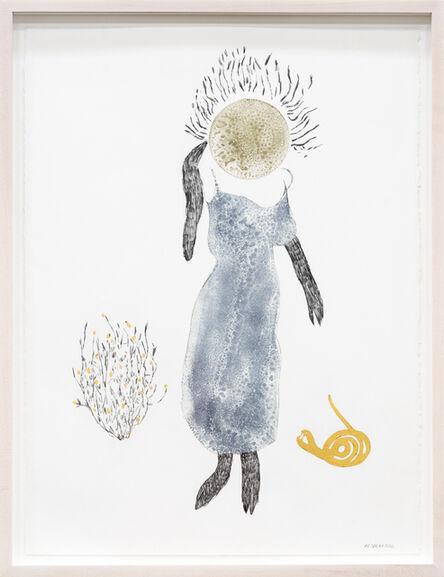 Maureen Selwood, 'Blue Bloom On Pinnacled Hair', 2014