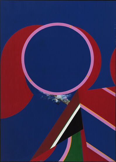 Budd Hopkins, 'Truro Blue', 1971