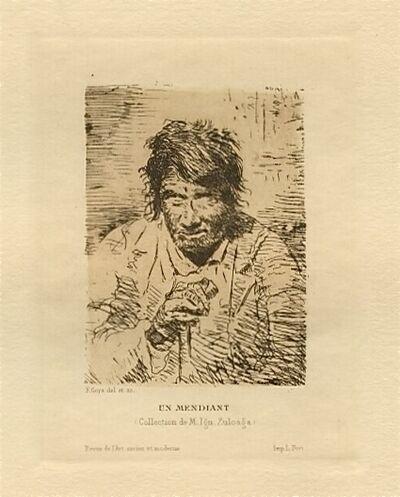 Francisco de Goya, 'Le mendiant (The Beggar)'