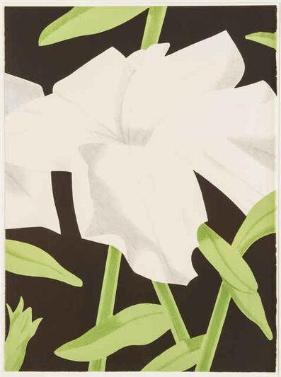 Alex Katz, 'White Petunia | Flowers', 1969