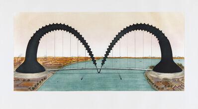 Claes Oldenburg, 'Screwarch Bridge (state III)', 1981