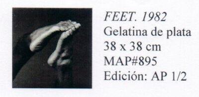 Robert Mapplethorpe, 'FEET', 1982