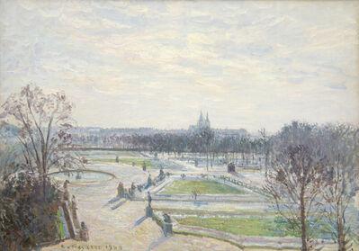 Camille Pissarro, 'Le Jardin des Tuileries, Apres-Midi, Soleil', 1900