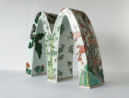Li Lihong, 'McDonald's – China (three friends in winter)', 2008