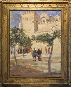 Jane Peterson, 'North African Scene'
