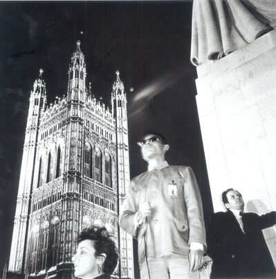 Tseng Kwong Chi, 'London, England', 1983