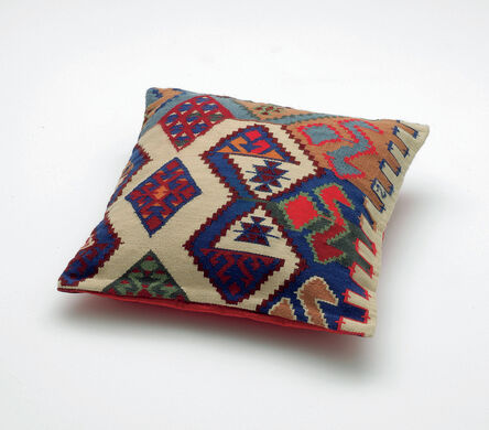 Olaf Nicolai, 'Georg's Pillow (Replica of a pillow from George Lukács' sofa in his study at Belgrad Kai, Budapest) (for Parkett 78)', 2007