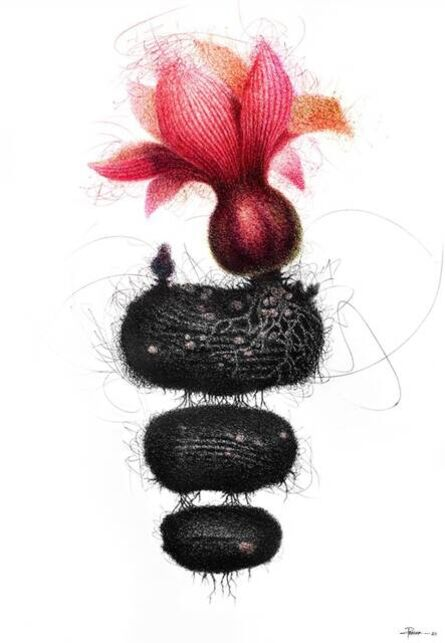 """Pratap Chandra Chakraborty, 'The Roots of Soul, Pen & Ink on Paper by Contemporary Indian Artist """"In Stock""""', 2020"""