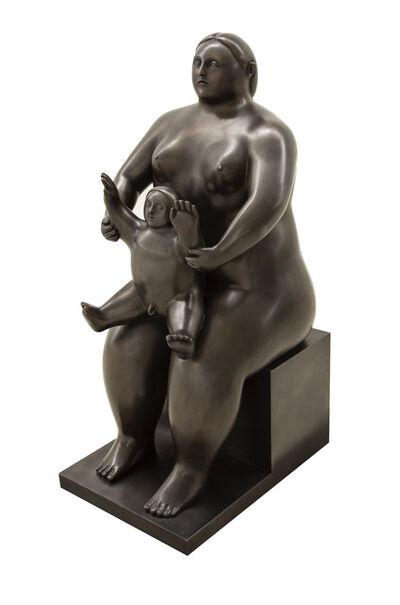 Fernando Botero, 'Maternita (Media)', 2014