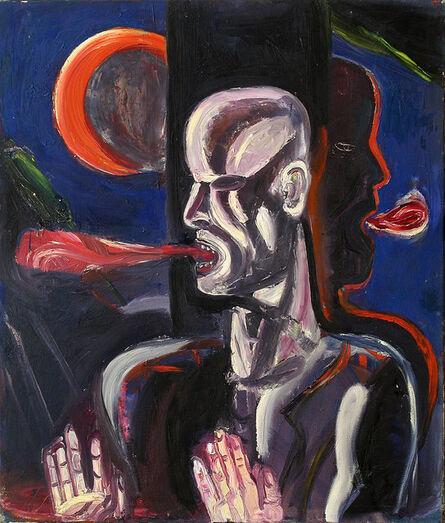 Klaus Killisch, 'Mondgesicht', 1988