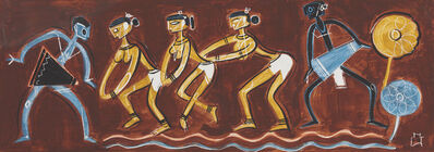 Shiavax Chavda, 'Tribal Dance', 1952