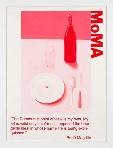 Yevgeniy Fiks, 'Communist Tour of MoMA (Rene Magritte)', 2010