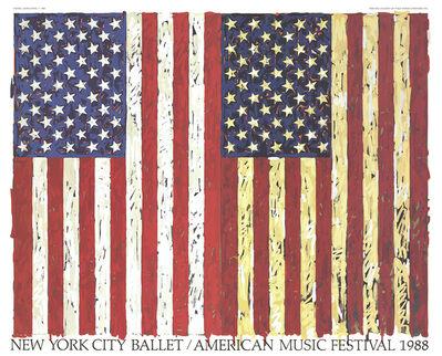 Jasper Johns, 'New York City Ballet / American Music Festival (1988)', 1988